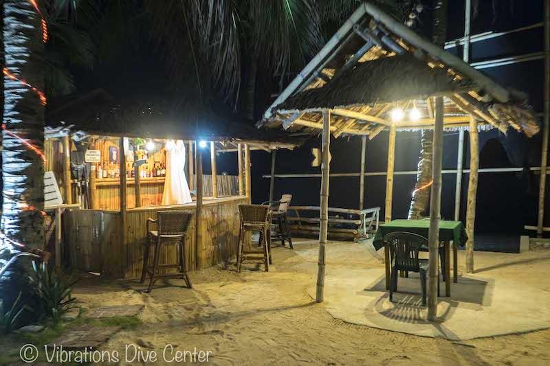 Beach House Restaurant and beach bar, Lans, Carabao Island, Romblon