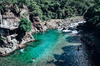 Rivière de Catingas, île de Sibuyan, Romblon
