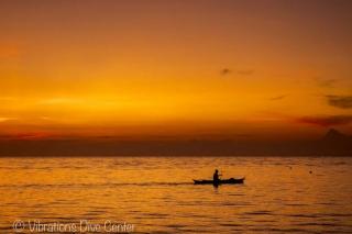 Atardecer en Lanas Beach, San Jose, Carabao Island, Romblon