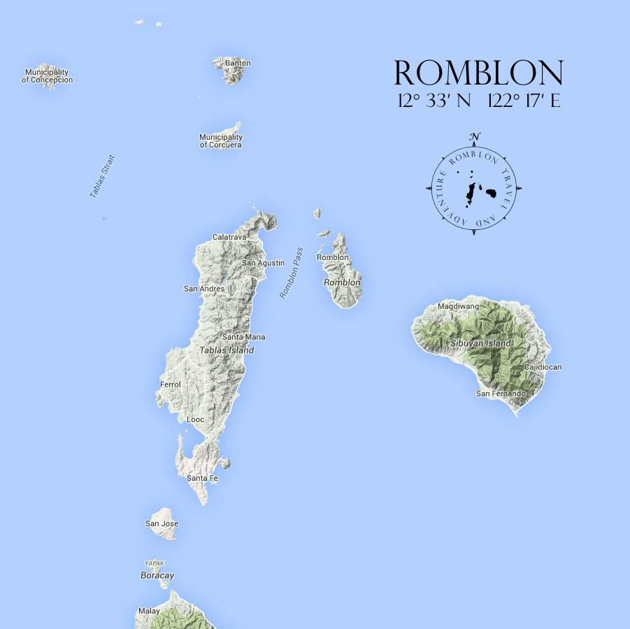 Carte de Romblon